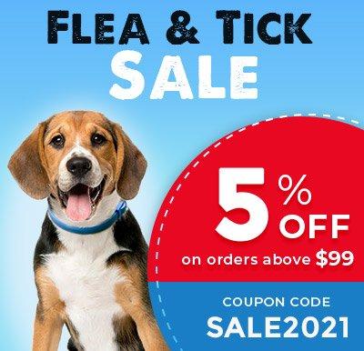 Flea & Tick Sale