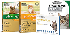 Flea, Tick & Wormers
