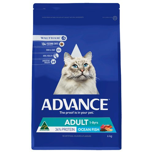 Advance Adult Cat Total Wellbeing with Fish Dry