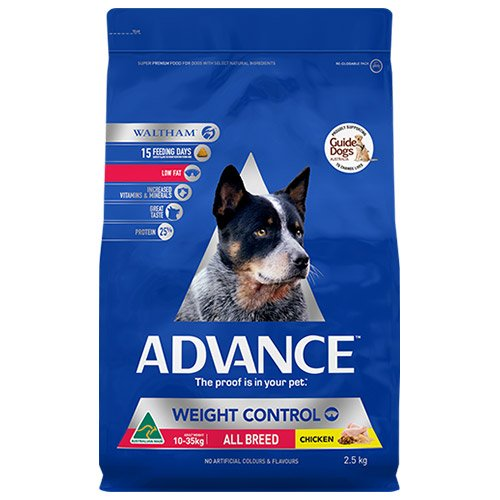 Advance Dog Food Adult Weight Control with Chicken