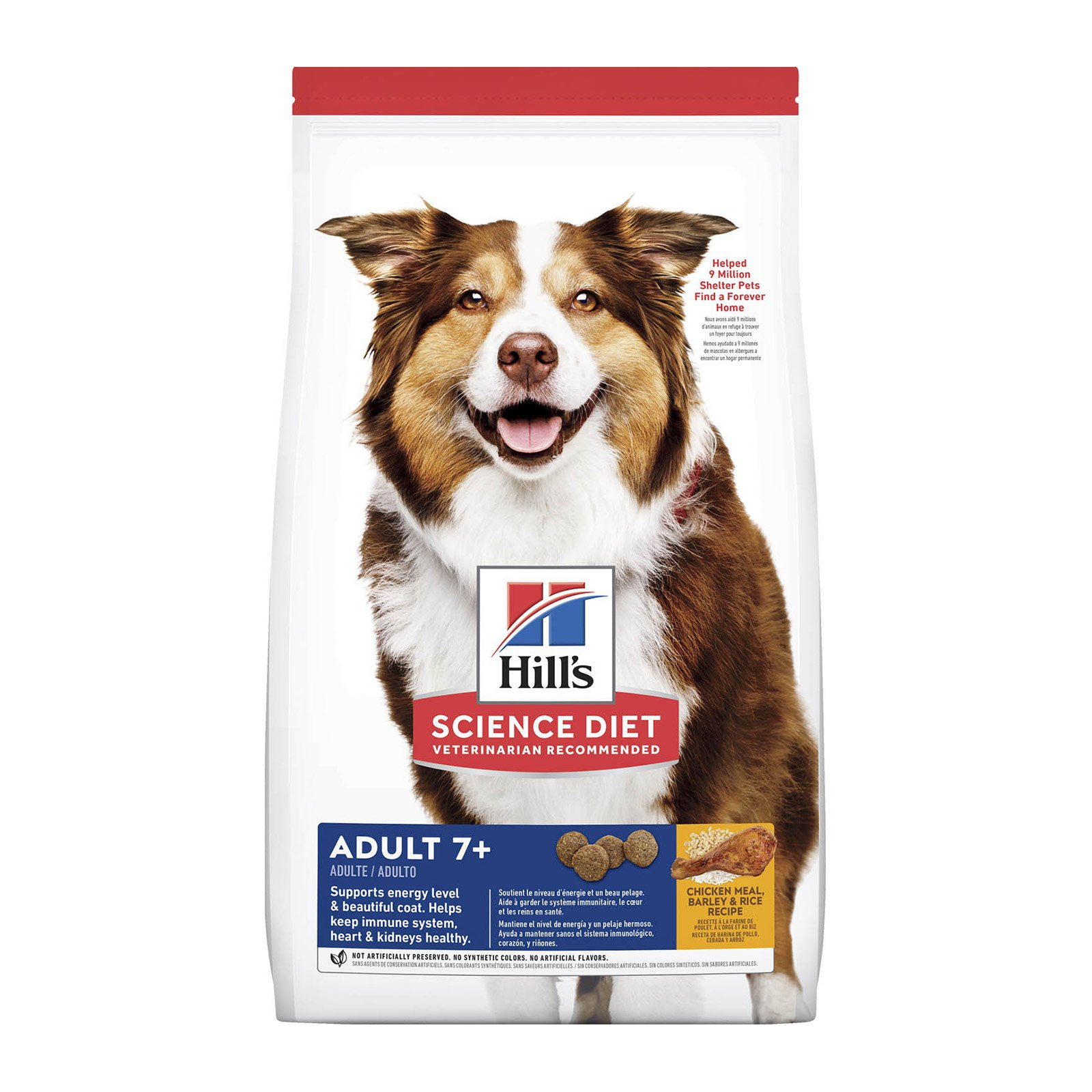 Hill's Science Diet Adult 7+ Chicken Meal, Barley & Brown Rice Dry Dog Food