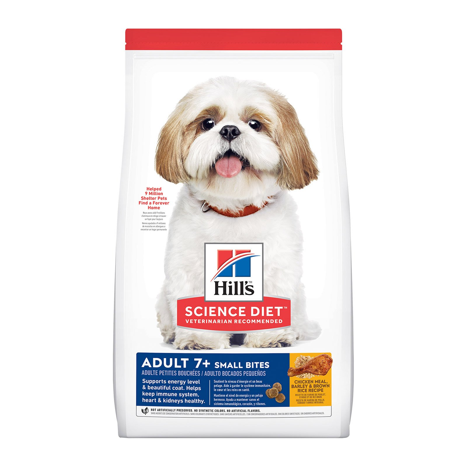 Hill's Science Diet Small Bites Adult 7+ Senior Dog Food