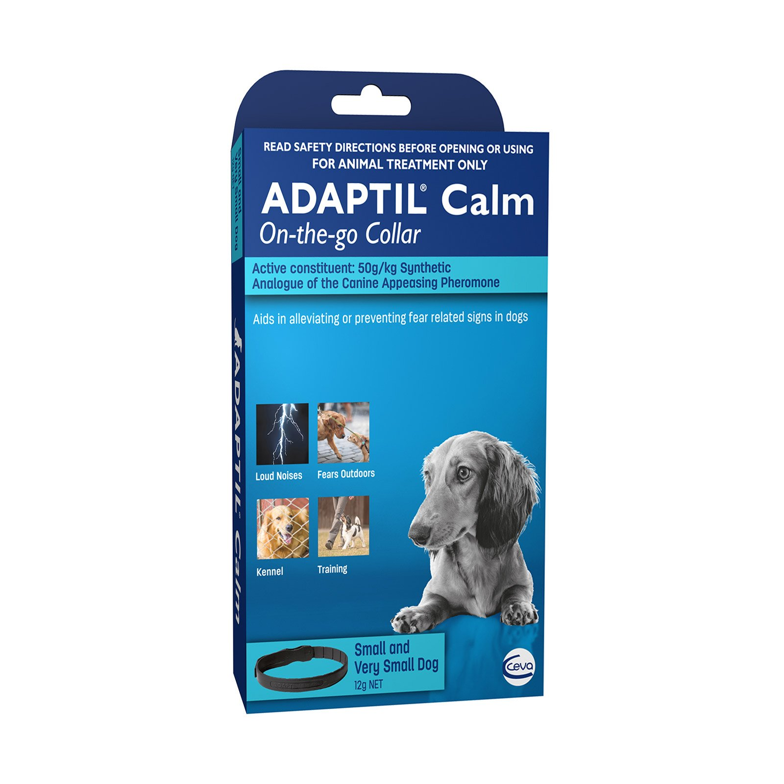 Adaptil Calm On-The-Go Collar 45cm for Small Dogs