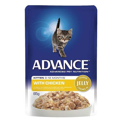 Advance Kitten Chicken in Jelly Wet Food Pouch