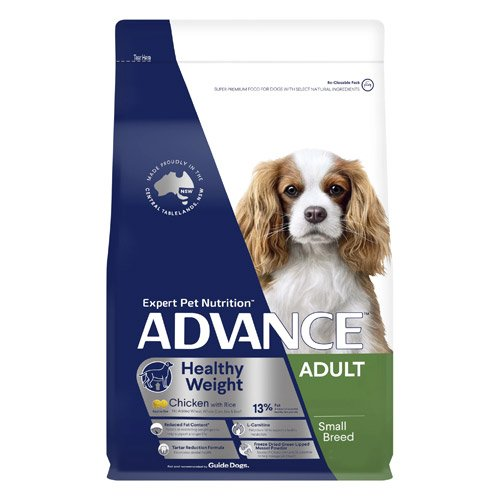 Advance Healthy Weight Adult Small Breed Chicken with Rice Dry Dog Food