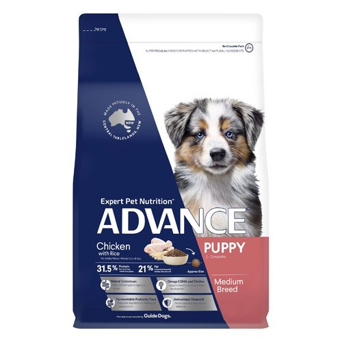 Advance Puppy Growth Medium Breed Chicken with Rice Dry Dog Food