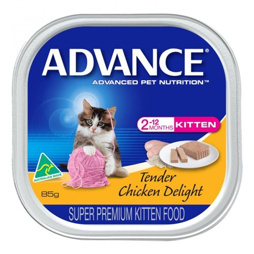 Advance Kitten with Tender Chicken Delight Cans 85 Gm