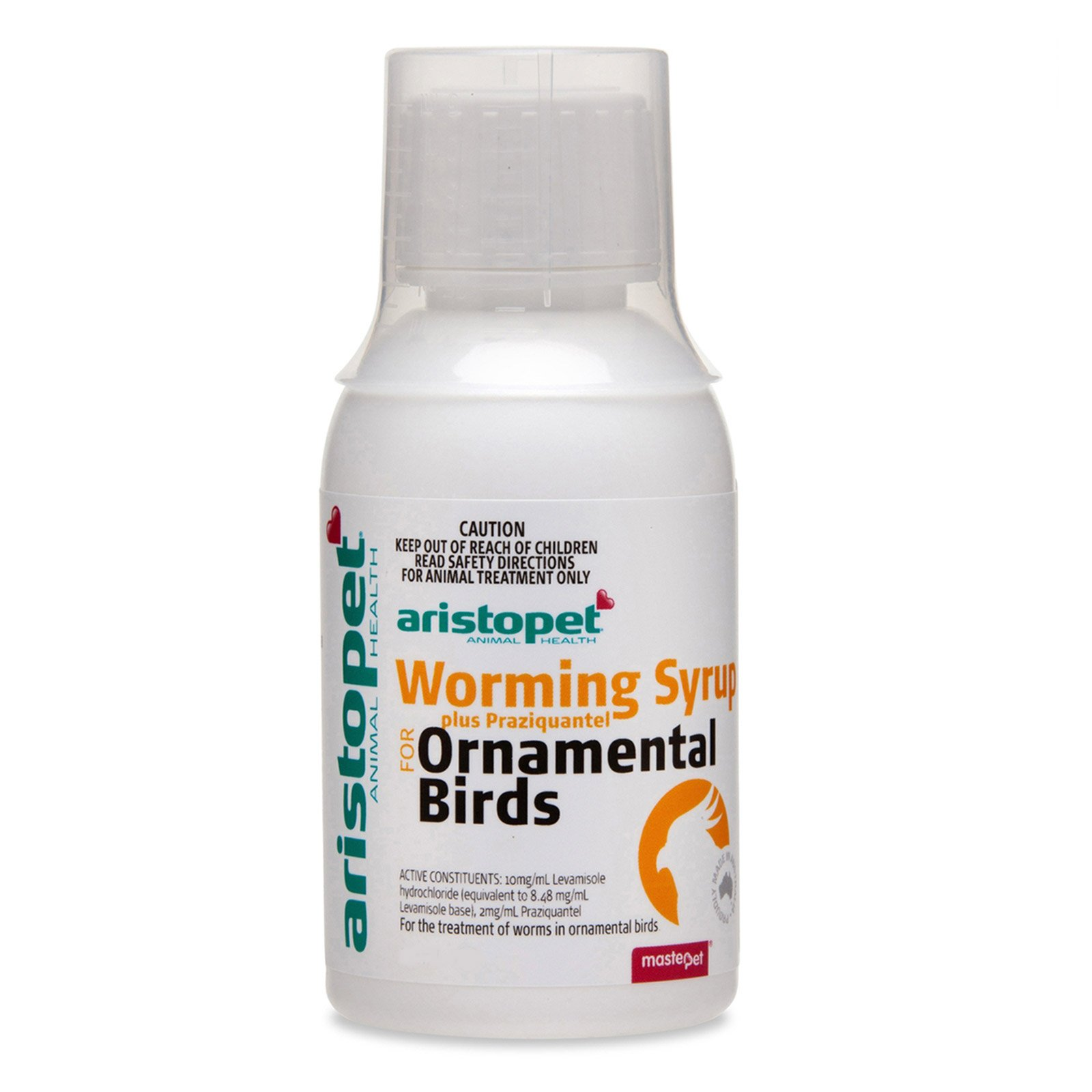 Aristopet Bird Wormer Plus Syrup
