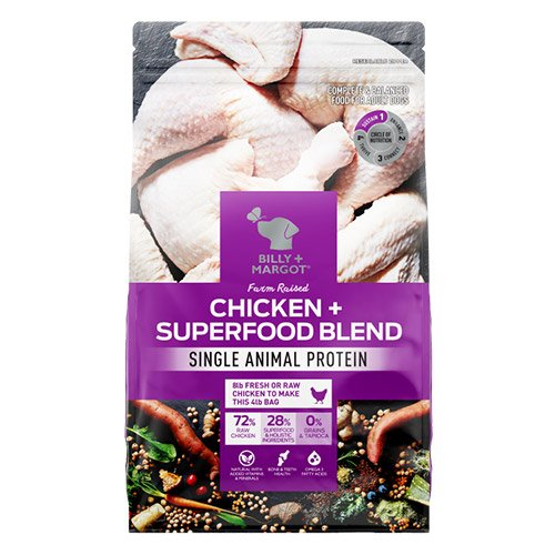 Billy & Margot Dog Adult Chicken and Superfood