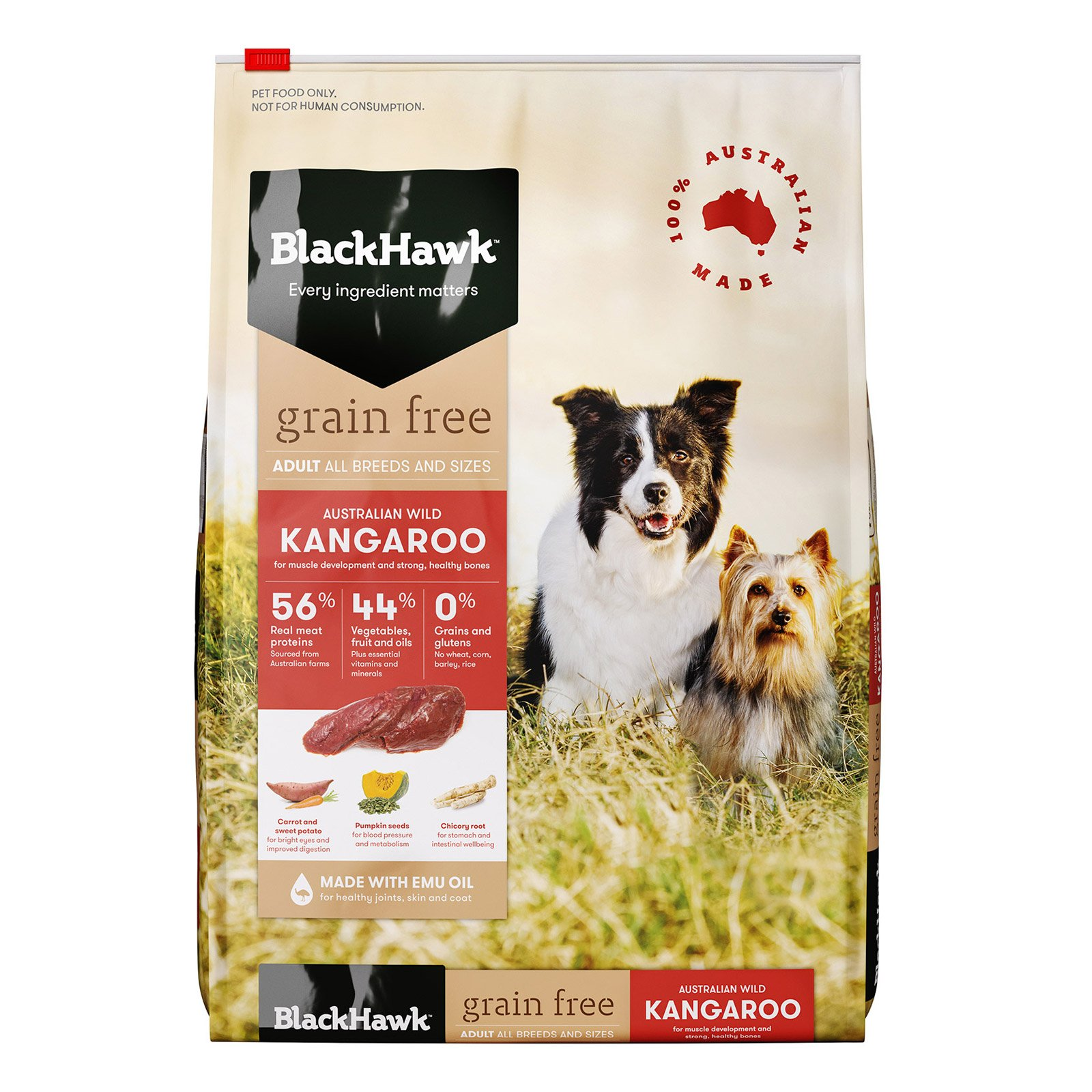 Black Hawk Adult Grain Free Kangaroo Dry Dog Food