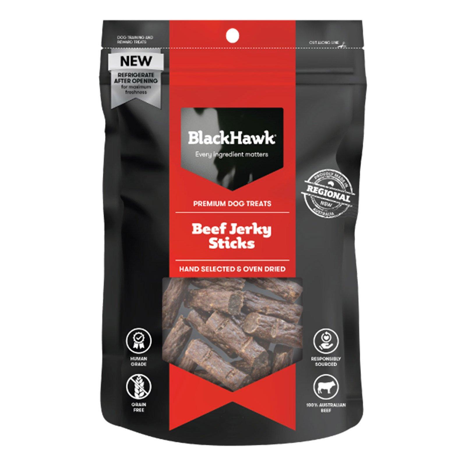 Black Hawk Dog Beef Sticks