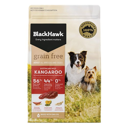 BlackHawk Dog Grain Free Kangaroo