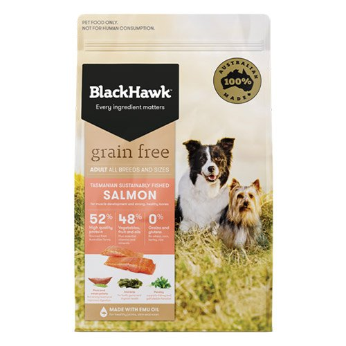 BlackHawk Dog Grain Free Salmon
