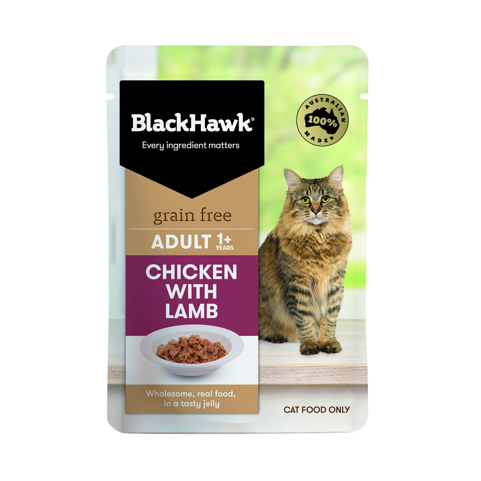 BlackHawk Cat Chicken/Lamb 85g