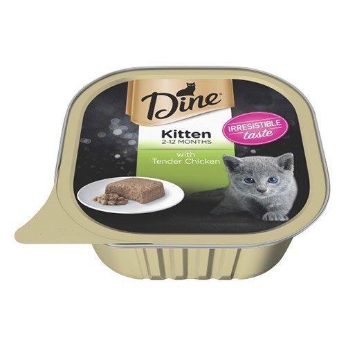 Dine Cat Kitten Tender Chicken