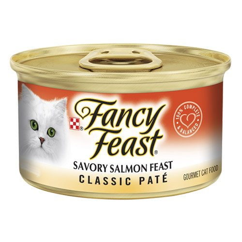 Fancy Feast Cat Adult Classic Savoury Salmon 85g X 24 Cans