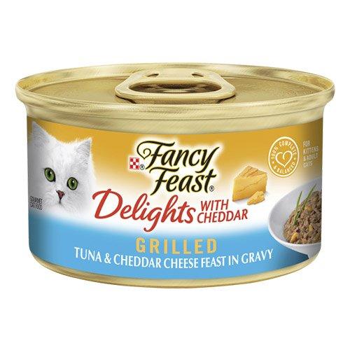 Fancy Feast Cat Adult Delights Cheddar Tuna