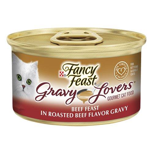 Fancy Feast Cat Adult Gravy Lovers Beef