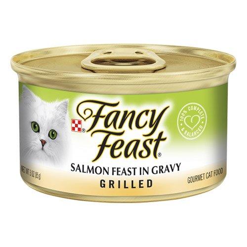 Fancy Feast Cat Adult Grilled Salmon Feast in Gravy