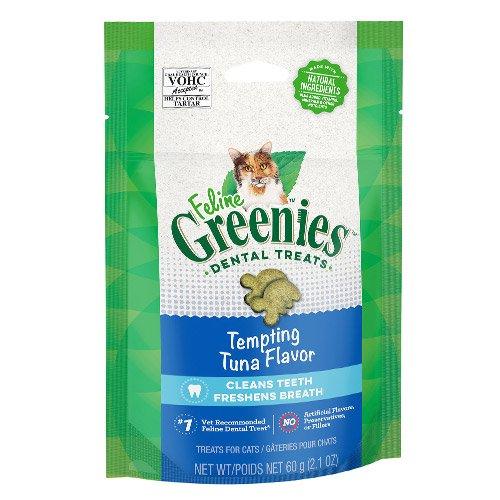 Greenies Feline Dental Treats Tuna Flavour for Cats