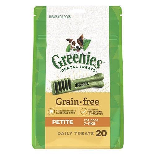 GREENIES Grain Free Petite Dog Dental Treats 7-11 KGS