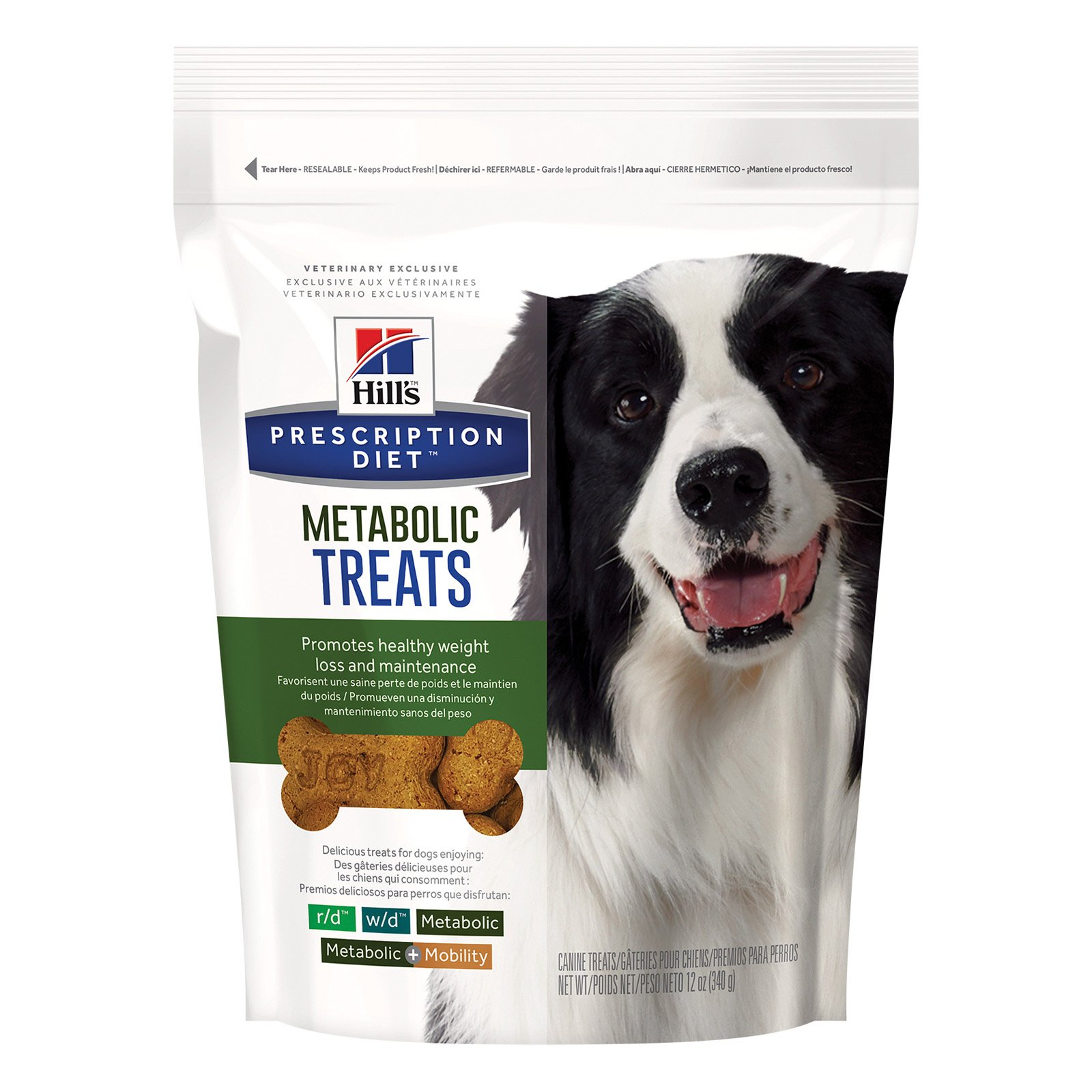Hill's Prescription Diet Metabolic Canine Treats 340 gm