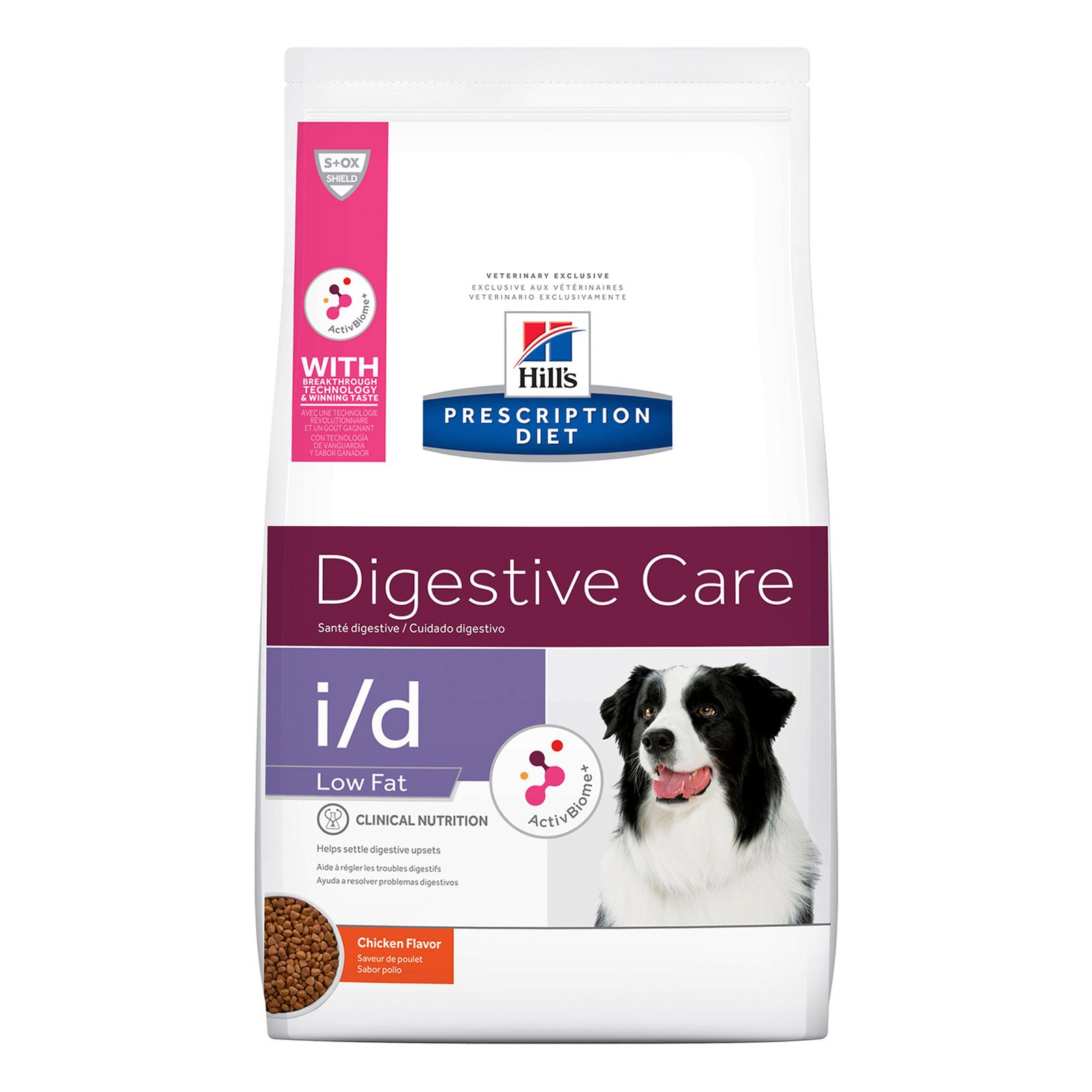 Hill's Prescription Diet i/d Low Fat Digestive Care with Chicken Dry Dog Food