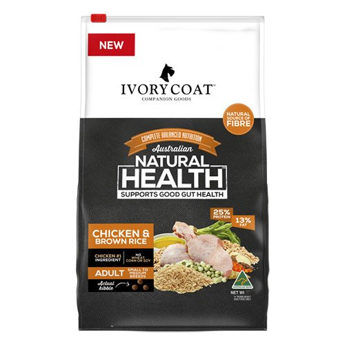 Ivory Coat Dog Adult Chicken and Brown Rice