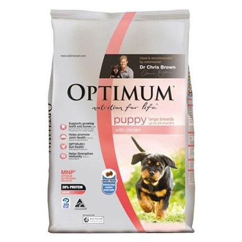 Optimum Puppy Large Breed Chicken