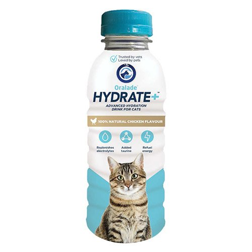 Oralade Hydrate+ for Cats 330 ml