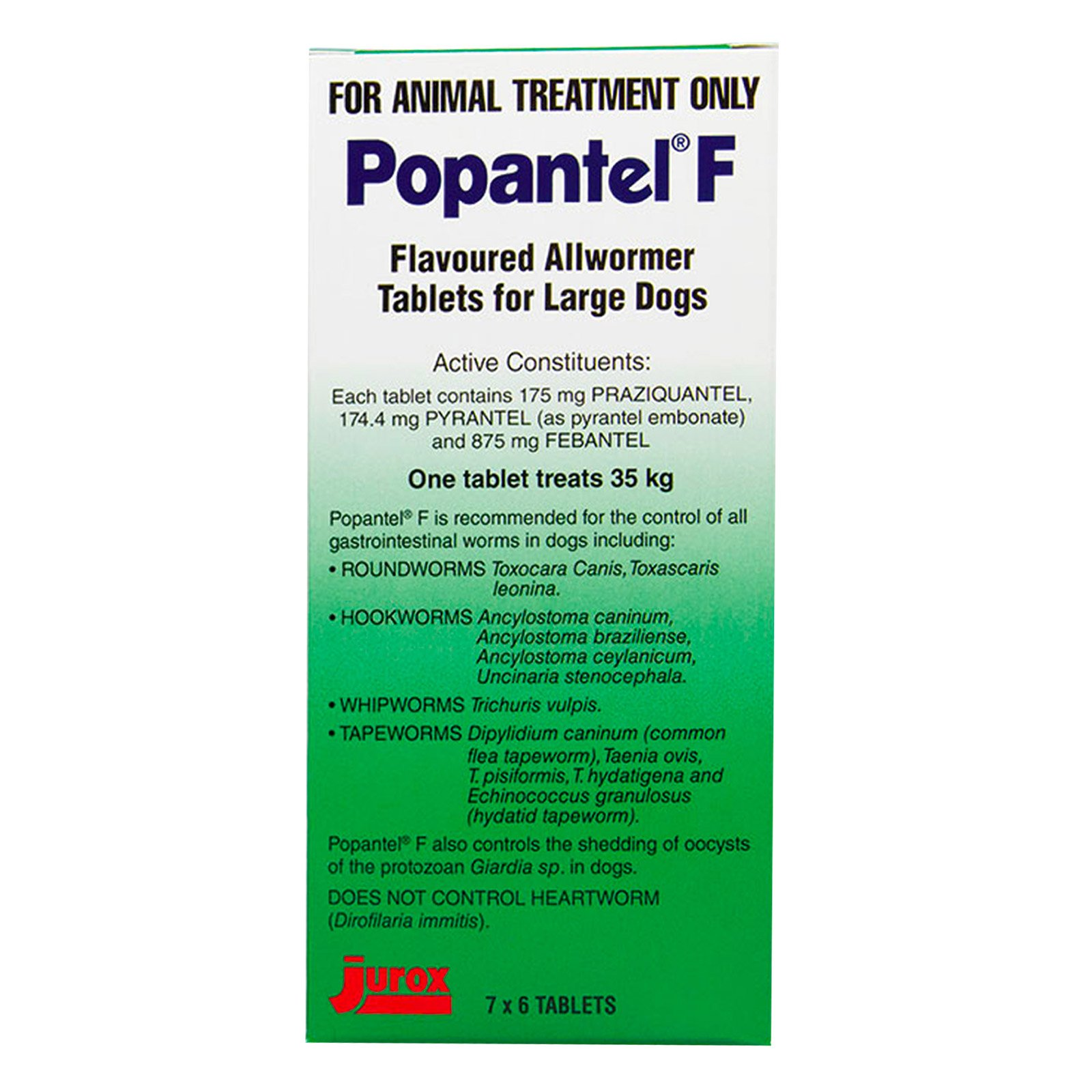 Popantel F Allwormer for Large Dogs (35 kg)