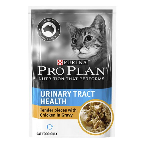 Pro Plan Cat Adult Urinary Tract Health Chicken Pouch 85g X 12 Pouches