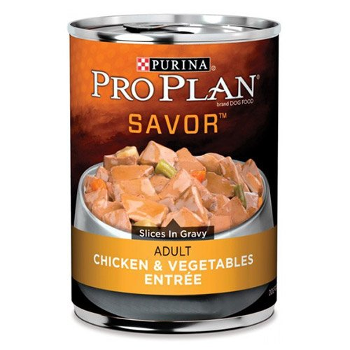 Pro Plan Dog Adult Chicken & Vegetable Entree 368g X 12 Cans