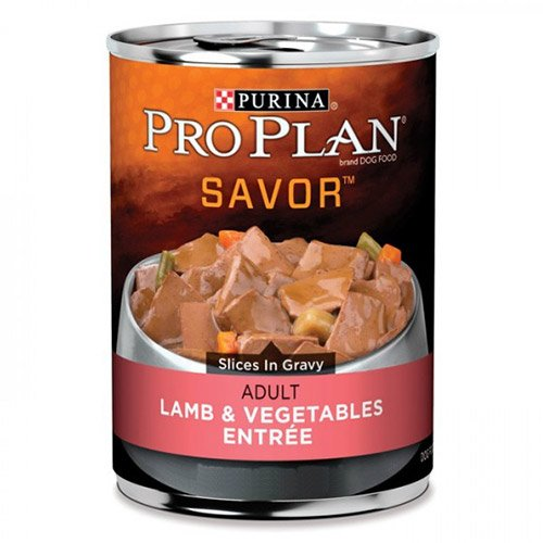 Pro Plan Dog Adult Lamb & Vegetable Entree 368g X 12 Cans