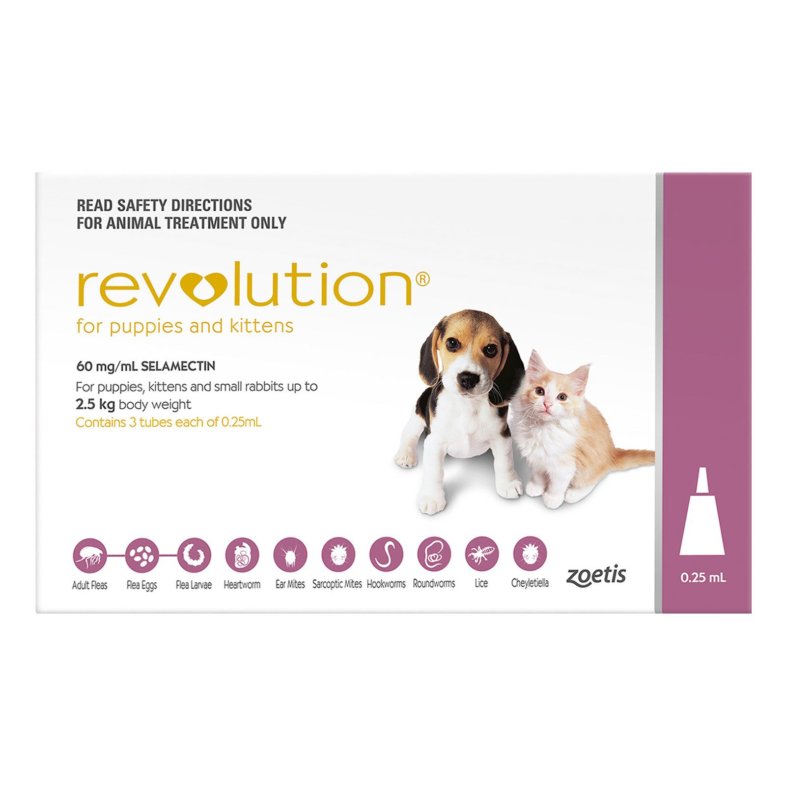 Revolution  For Kittens (Pink)