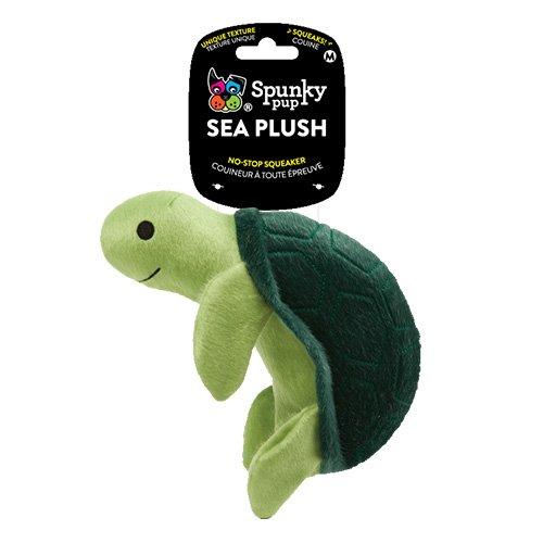 SEA PLUSH TURTLE For Medium Dogs