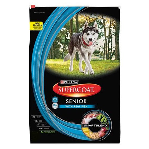 Supercoat Dog Senior Fish