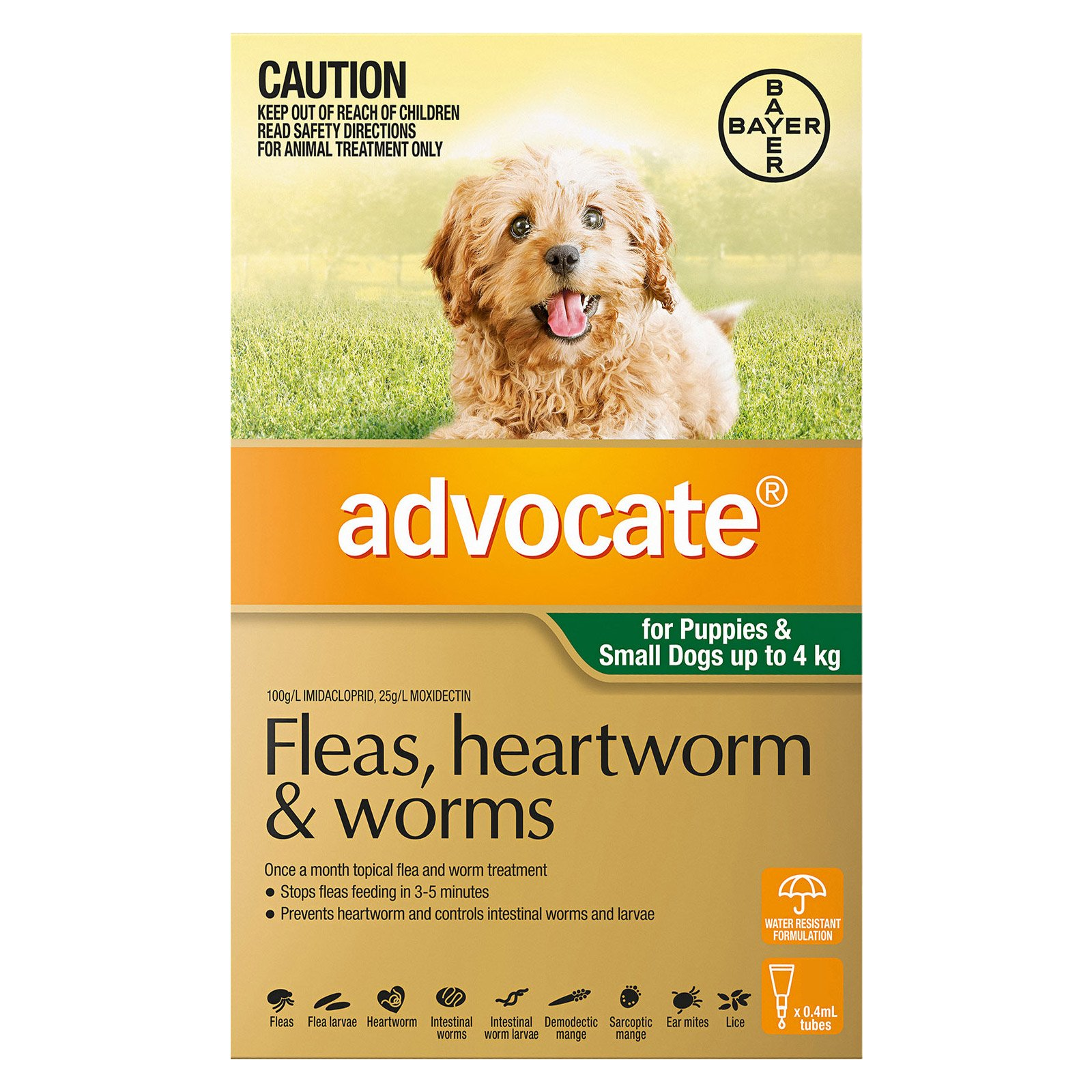 Advocate for Dogs up to 4 kg (Small Dogs/Pups) Green