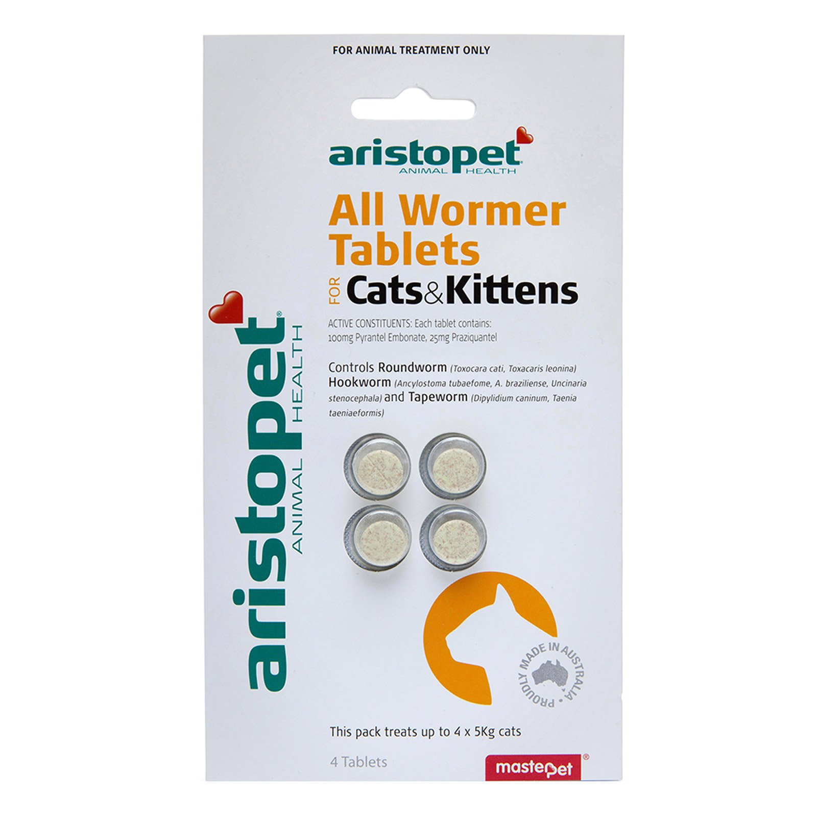 Aristopet All Wormer Tablets