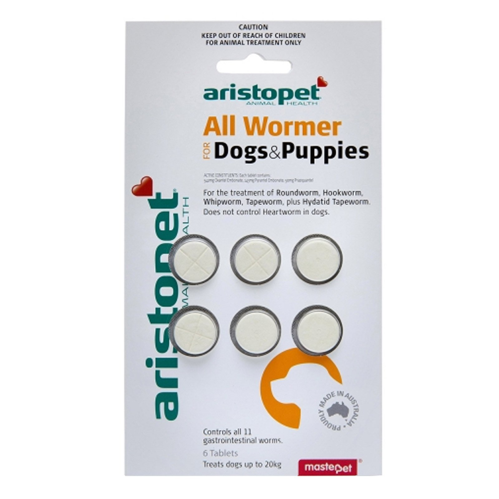Aristopet Allwormers For Dogs/Puppies