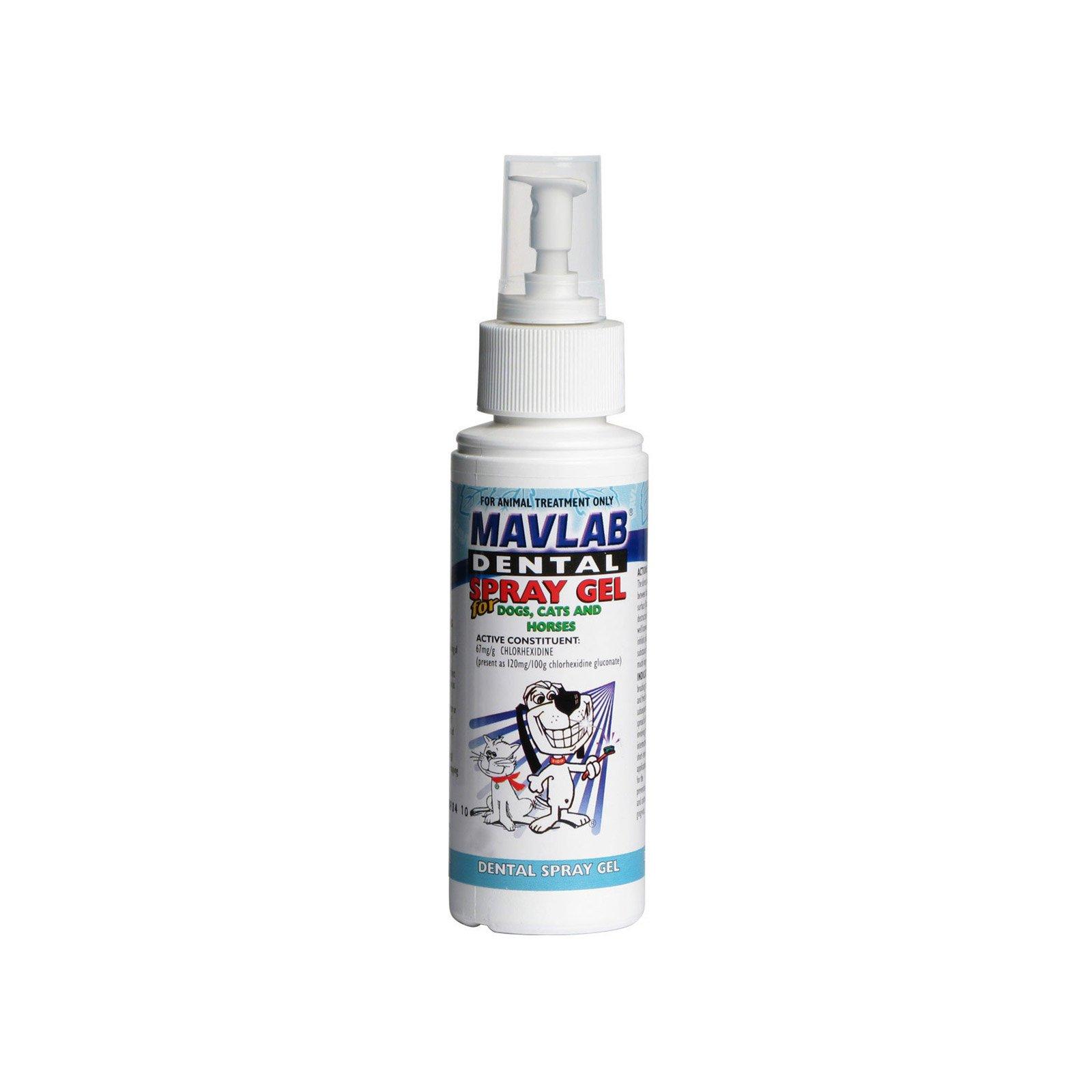 Mavlab Dental Spray Gel For Dogs, Cats & Horses