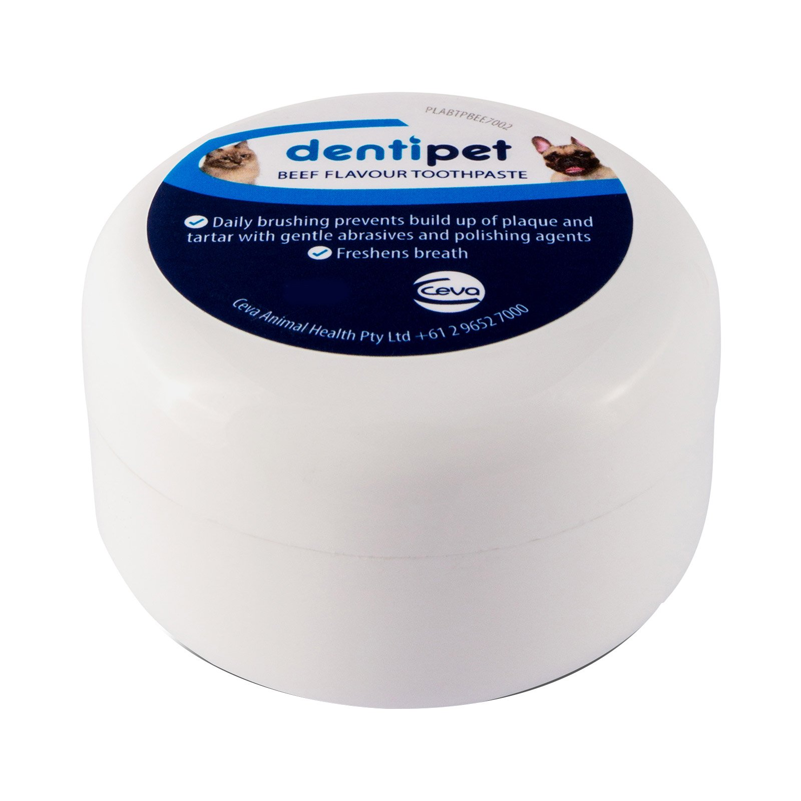 Dentipet Toothpaste for Dogs and Cats 70 Gm Beef Flavour