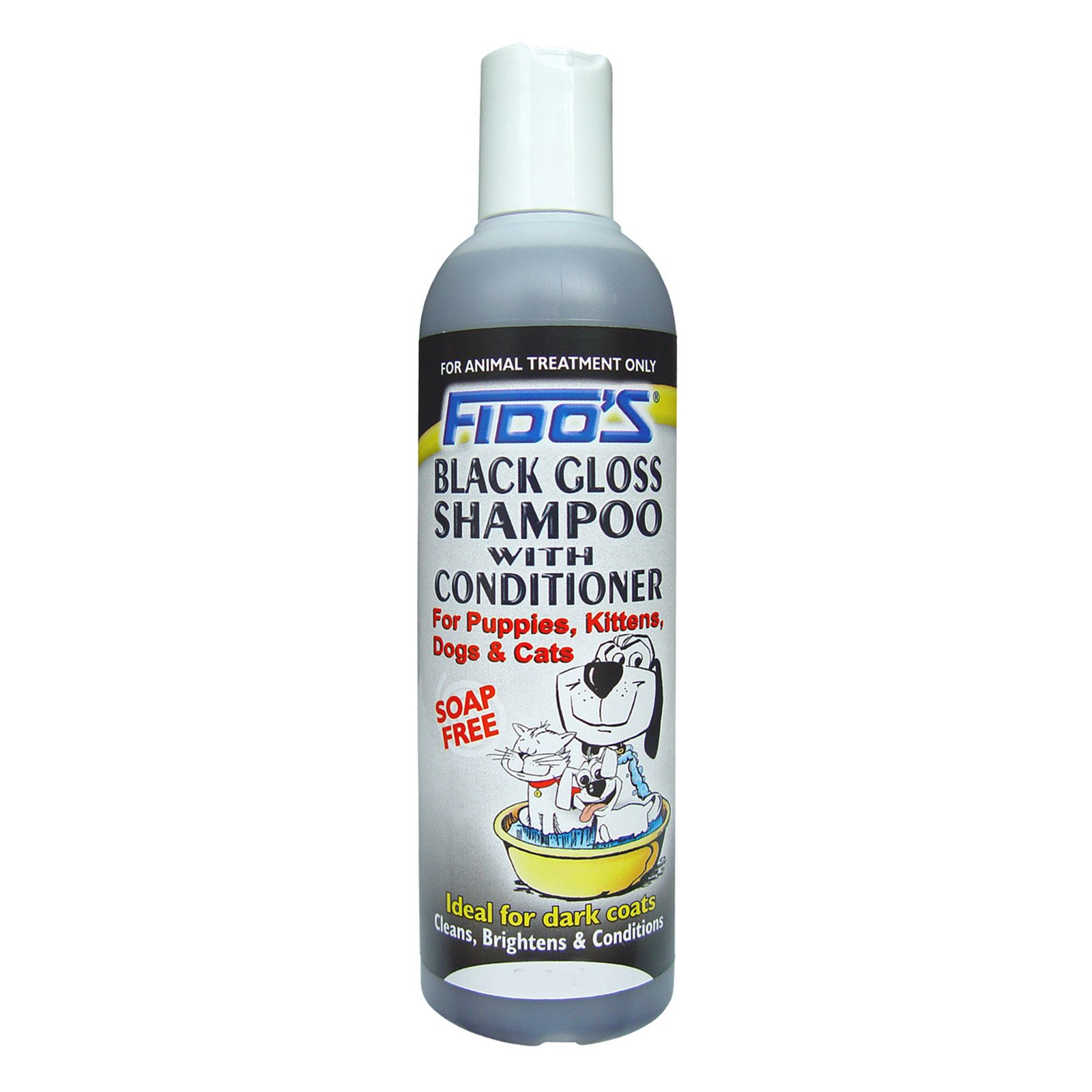 Fidos Black Gloss For Dogs
