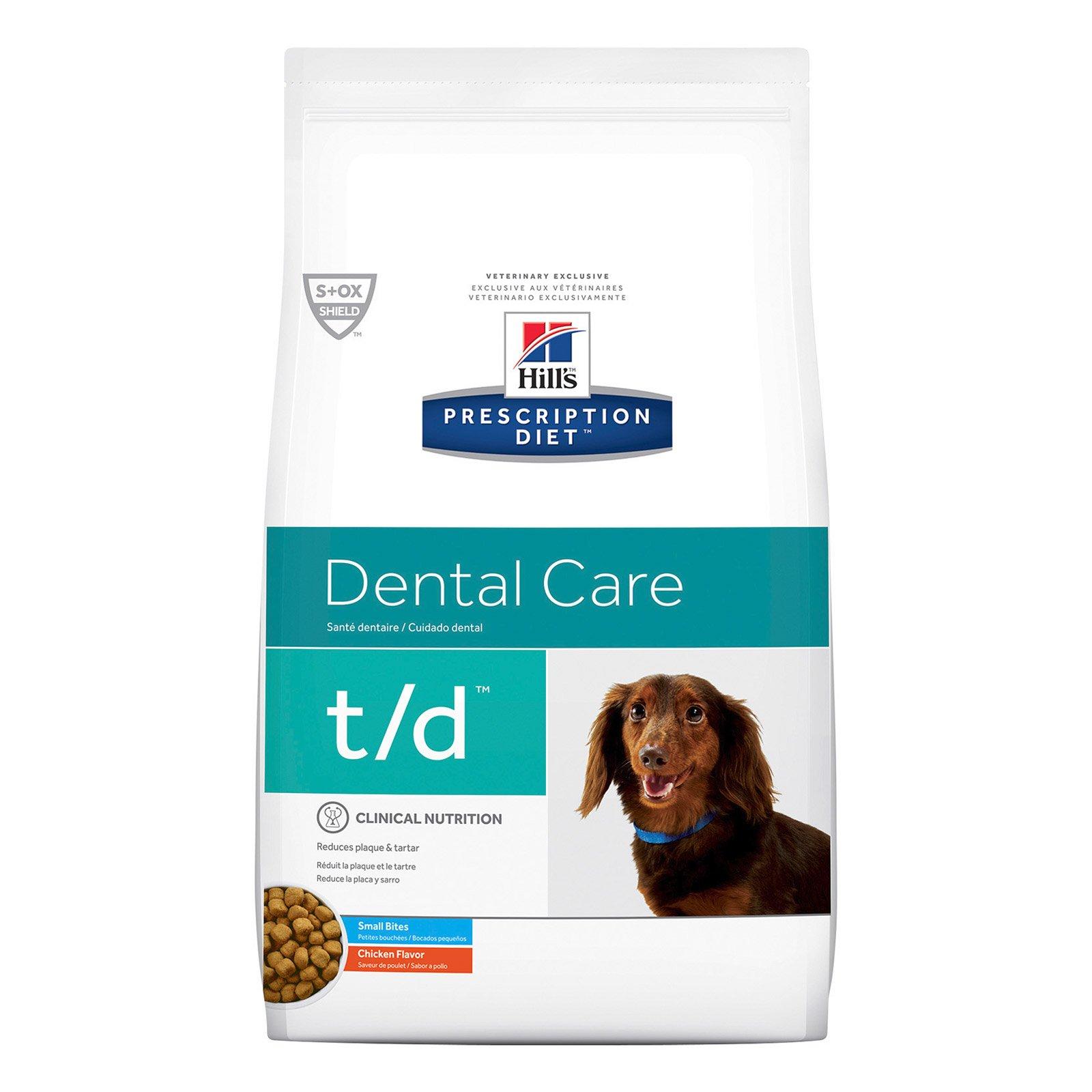 Hill's Prescription Diet t/d Small Bites Dental Care Dry Dog Food