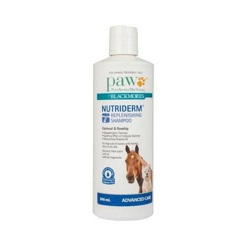 Paw Nutriderm Shampoo For Dogs & Horses