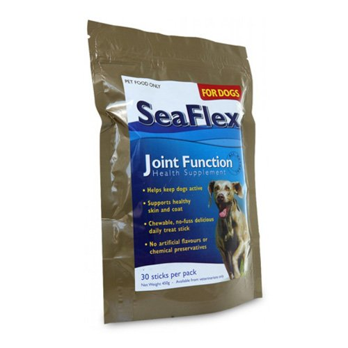 Seaflex Joint Function Health Supplement For Dogs 30 Sticks