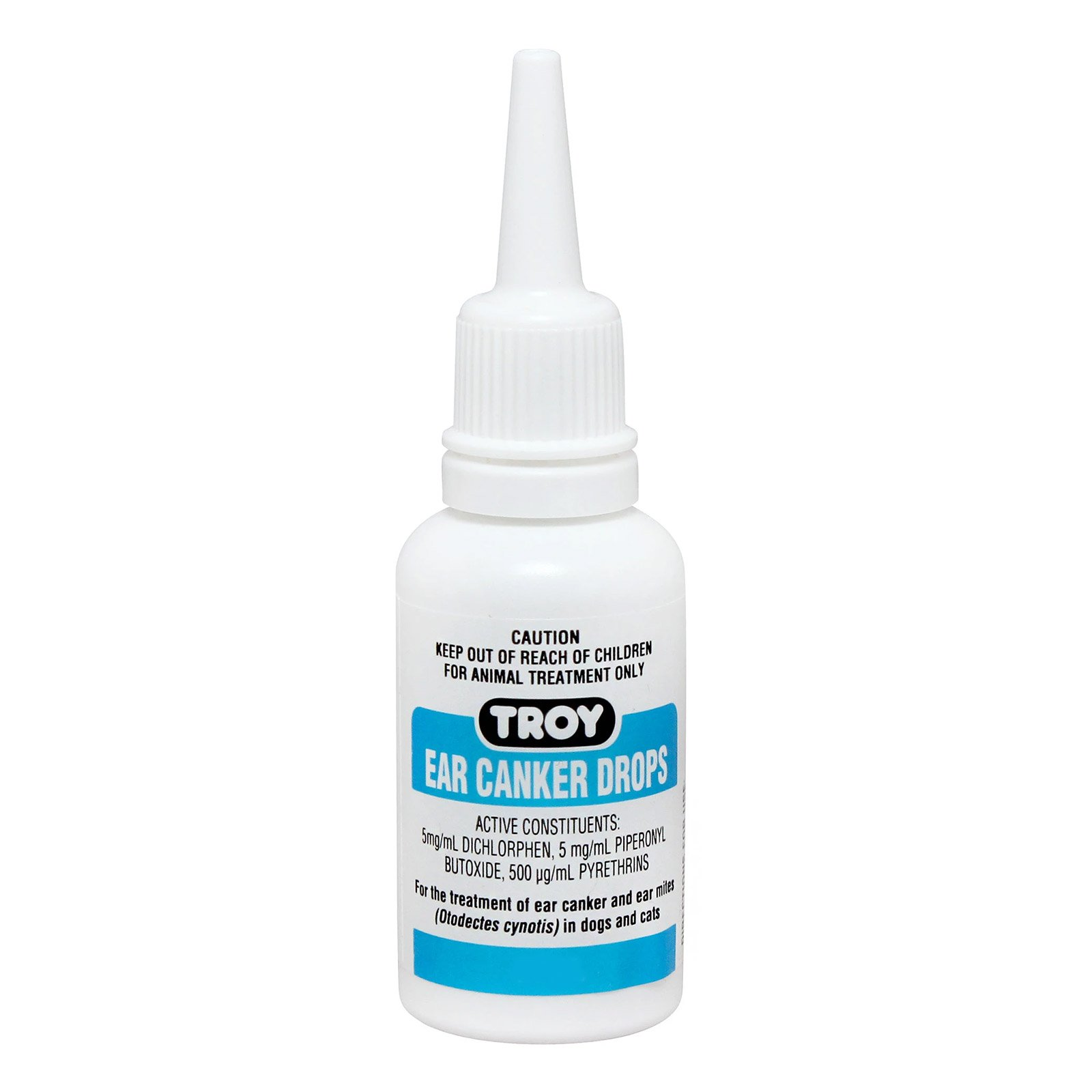Troy Ear Canker Drops For Dogs