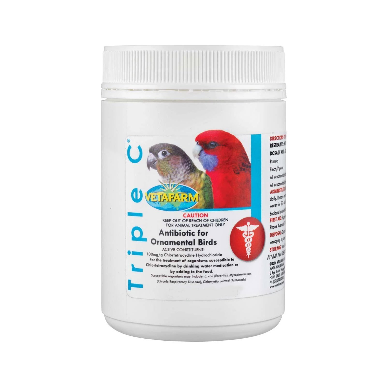 Vetafarm Triple C Antibiotic for Birds