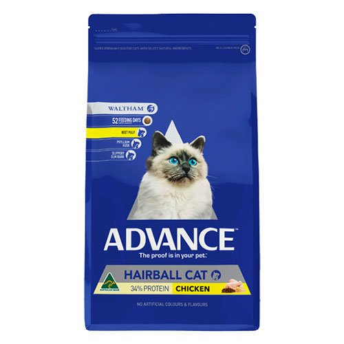 Advance Adult Cat Hairball Control with Chicken Dry