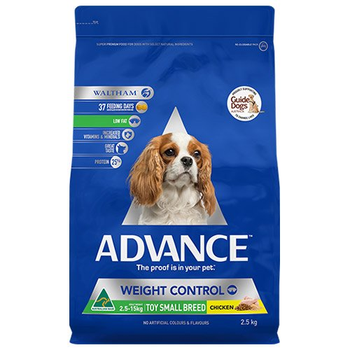 Advance Adult Dog Weight Control Toy/Small Breed with Chicken Dry